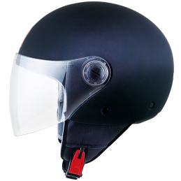 Casco Mt Street Solid Negro