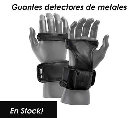 Guante detector de metales